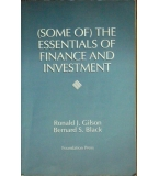 The Essentials of Finance and Investment - Ronald Gilson and Bernard Black